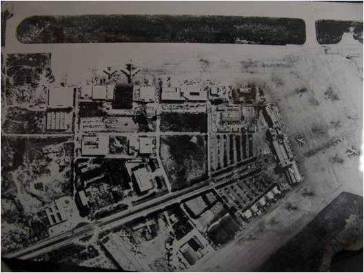 Beirut airport in 1960