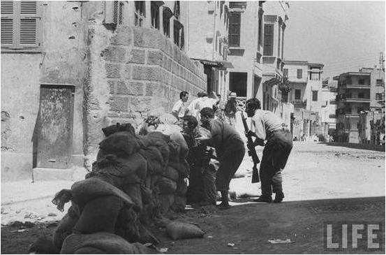 Rebels in Basta 1958