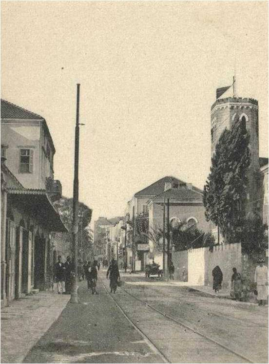 Rue Georges Picot 1920