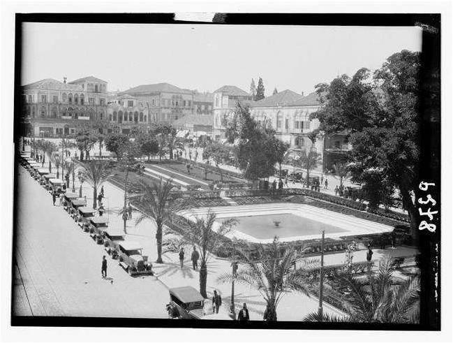 Sahat Al Bourj circa 1930