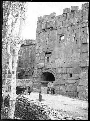 The wall of Beirut 1911a