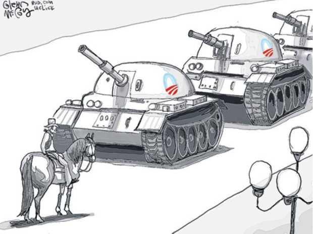 Glenn McCoy cartoon - April 15 2014