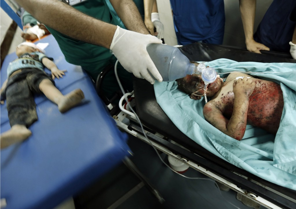 Children-Gaza-Israel