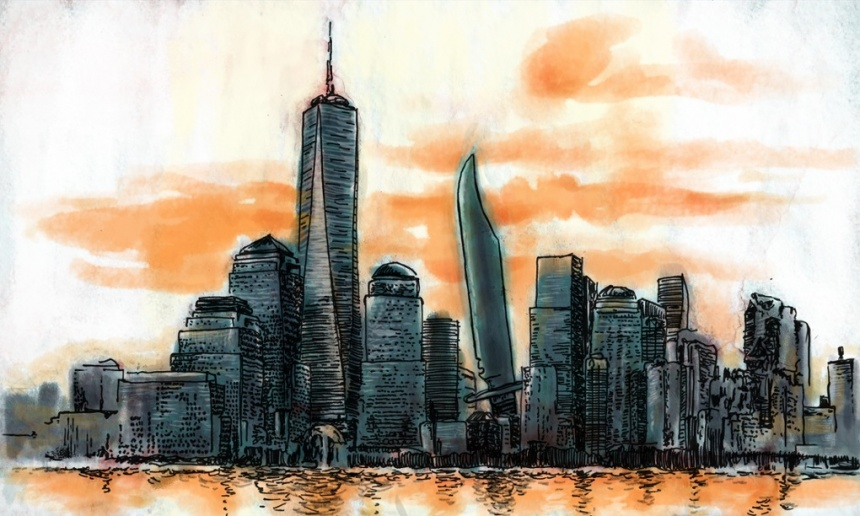 Guardian 9-11 illustration - Steve Haske